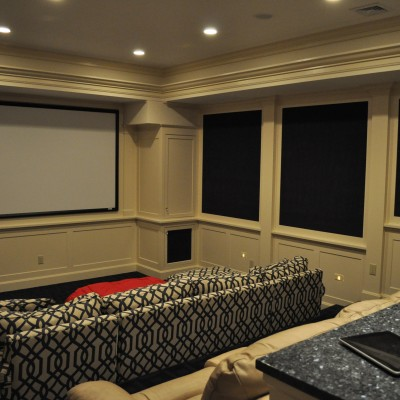 Home Theater with ipad